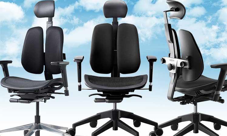 Duorest Alpha ergonomic office chair