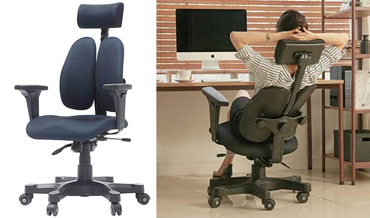 Duorest Gold vs Soutien ergonomic chair