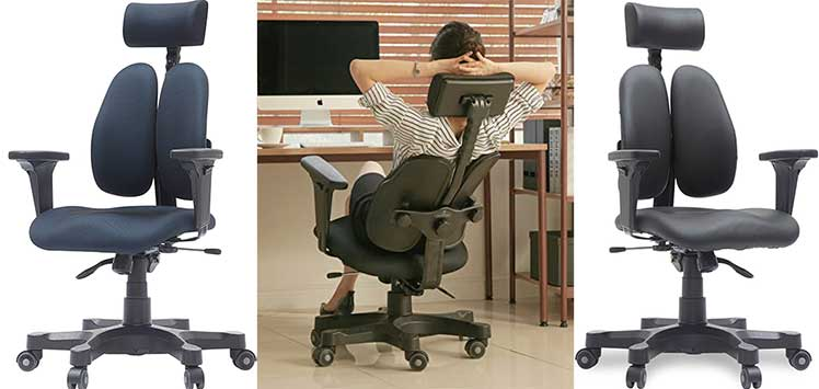 Duorest Gold ergonomic office chair