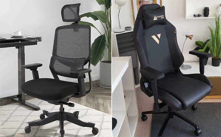 Flexispot vs GTRacing