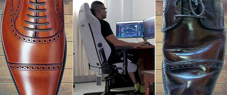 Breaking in gaming chairs like leather shoes