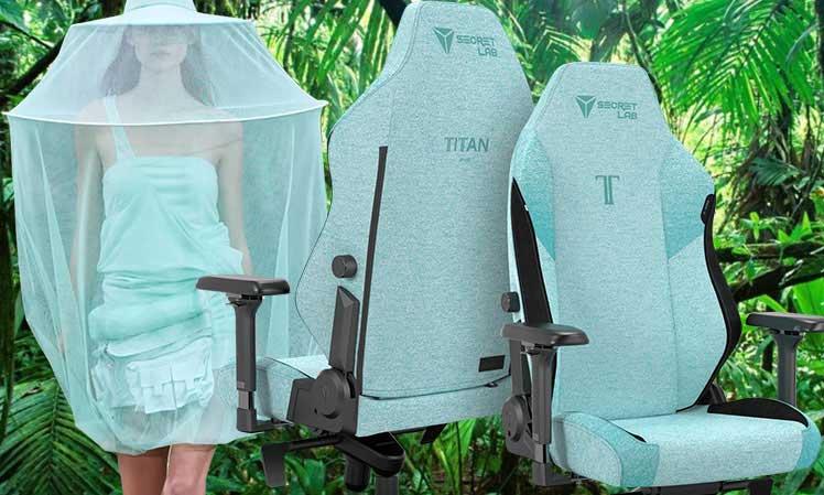 Secretlab Mint Green gaming chair