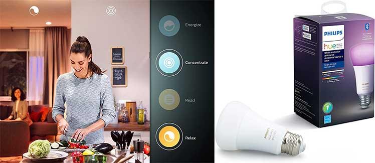Philips Hue Smart LED light