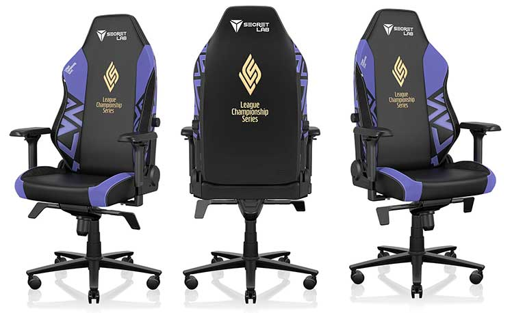 Secretlab LCS 2021 chairs
