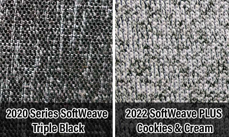 Softweave fabric vs SoftWeave Plus