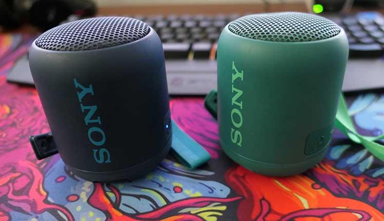 Sony SRS-XB12 speakers