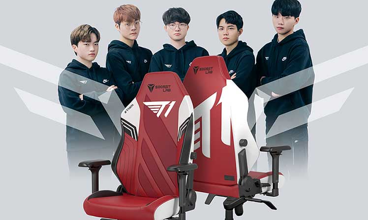T1 esports gaming chairs 2022 Series