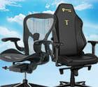 Aeron and Titan chairs