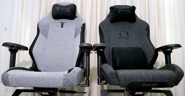 New vs old Secretlab gaming chairs
