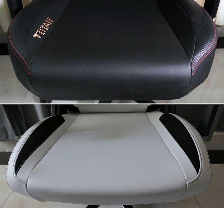 Secretlab Titan Pebble Seat style