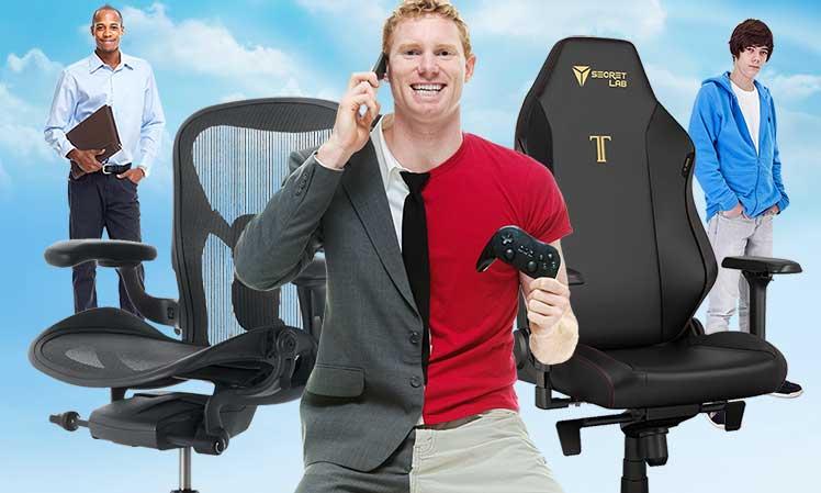 Titan vs Aeron chair