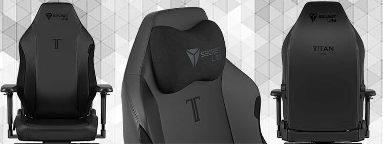 Titan Black gaming chair