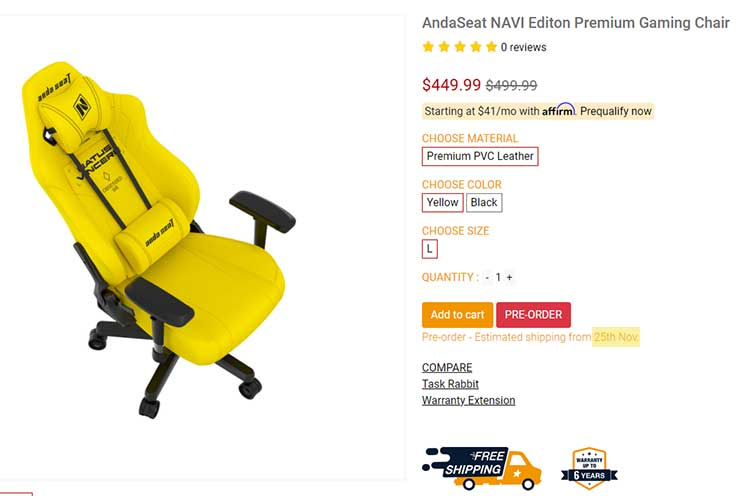Buy online from Anda Seat