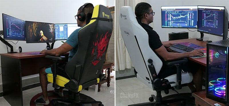 Titan Cyberpunk vs Ash chair