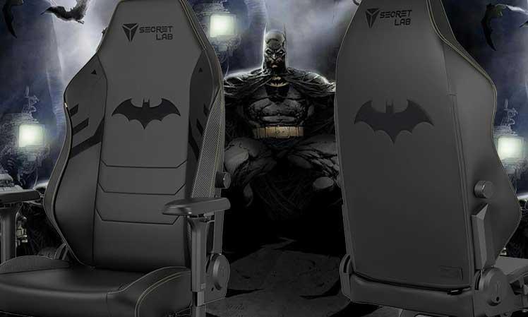 Secretlab Dark Knight gaming chair