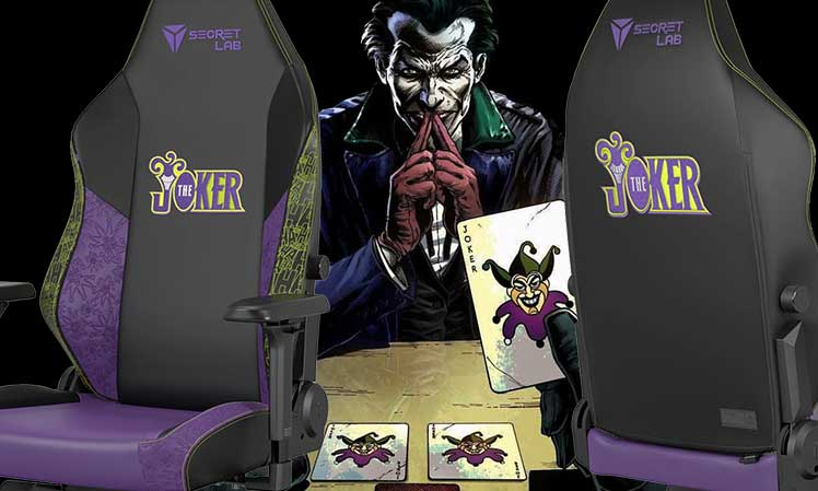 Joker gaming chair