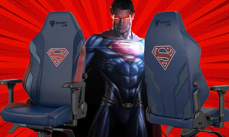 Secretlab Titan Superman gaming chair