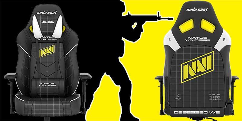 NaVi dark edition gaming chairs