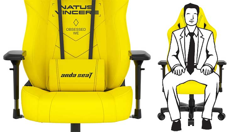 Anda Seat x Natus Vincere chair features