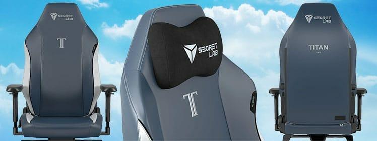 Titan Royal Neo Hybrid Leatherette chair