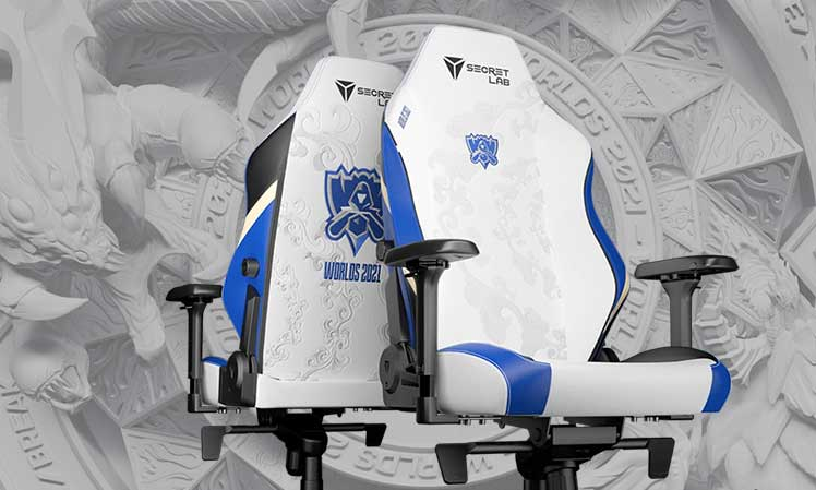 2021 League of Legends World Championship gaming chairs